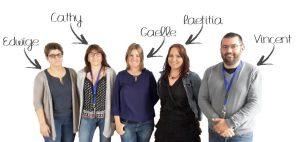 Equipe salariés de L'Agora